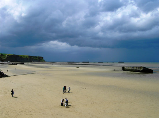 One day excursion to the WWII landing beaches of Normandy