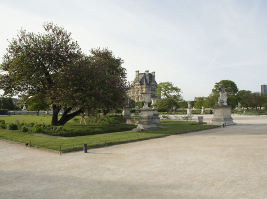 The Concord square, the Opera house and the Tuileries