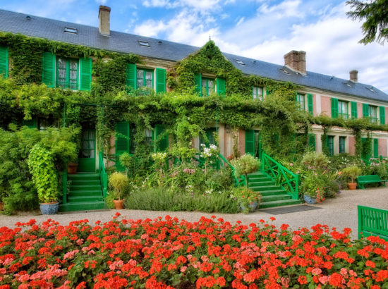 Versailles and Giverny, a journey through History and Art History