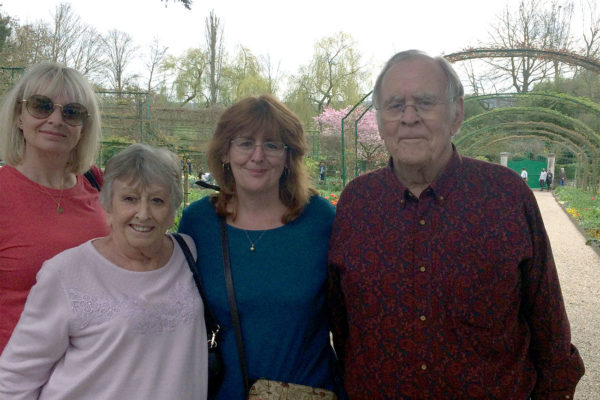 British family in Giverny