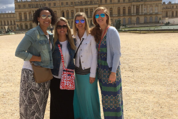 At the palace of Versailles