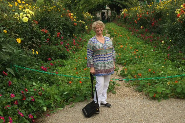 In the garden of Giverny
